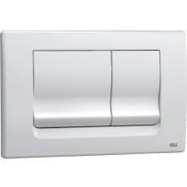 Кнопка слива OLI RIA механическая (белая)