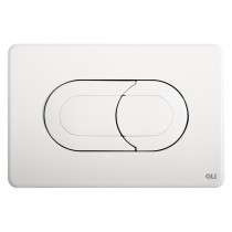 Кнопка слива OLI Salina пневматическая (белая)