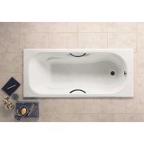 Ванна чугунная ROCA MALIBU 1600*750 с ручками А231070001 (в комплекте с ножками)